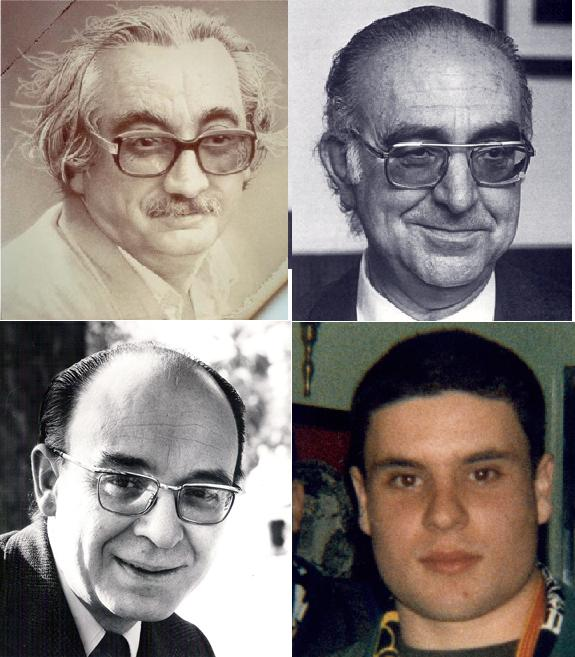 Joan Fuster, Manuel Sanchis Guarner, Vicent Andrés Estellés i Guillem Agulló