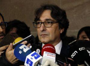El secretari segon de la Mesa del Parlament, David Pérez