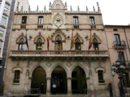 Façana de l'Ajuntament de Terrassa